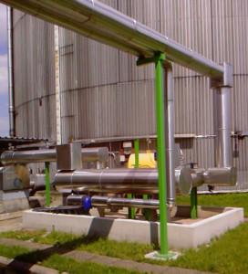 Tar oil tank system