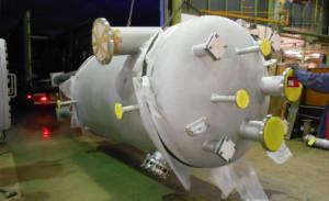 Kondensatentspanner mit tangentialer Kondensateinleitung - Condensate deaerator with tangential condensate inlet