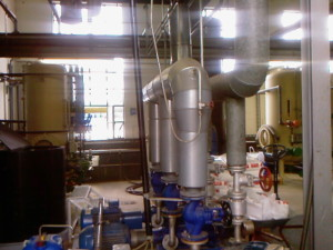 Kondensat-Rückführanlage -condensate recirculation system