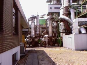 Luftvorwärmer-Kolonne -air preheater column